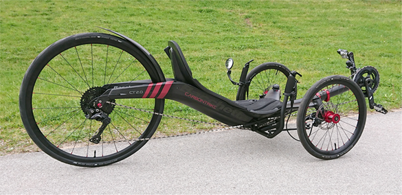 CARBONTRIKES - Lightweight Recumbent Trikes Made In Carbon